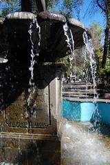 Alvaro Obregon_2572 (Omar Omar) Tags: laroma coloniaroma coloniaromanorte méxico mexico mexique méxicodf df distritofederal federaldistrict mexicocity ciudaddeméxico alvaroobregon avalvaroobregon avealvaroobregon avenidaalvaroobregon alvaroobregonavenue fountain fuente water agua eau policletodeargos mercadodearteroma doriforo мексика america