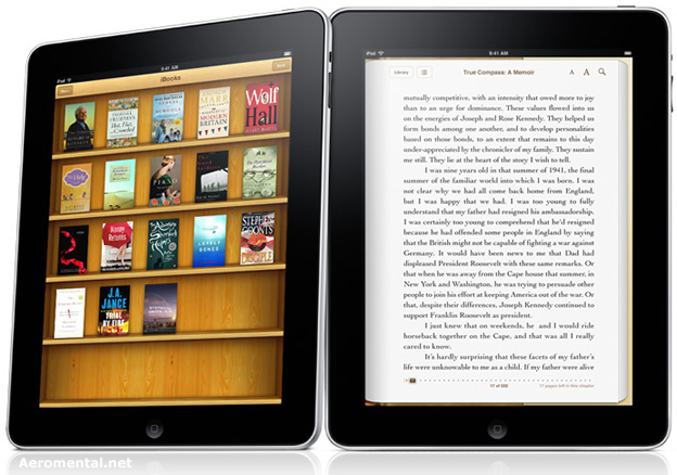 iPad with iBook iBookStore