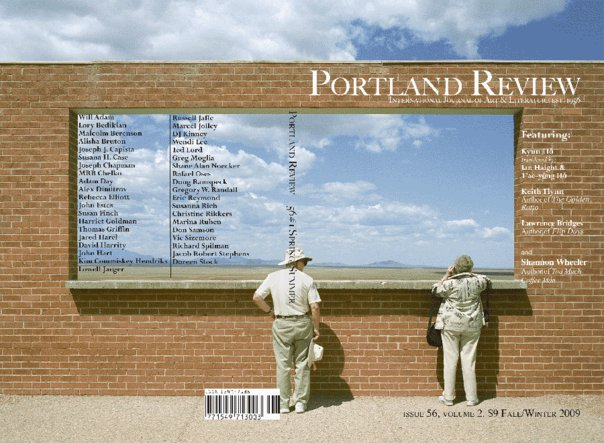Portland Review Cover