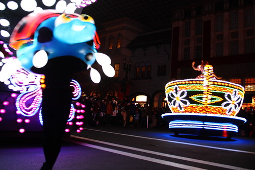 Magical Starlight Parade at Universal Studio Japan