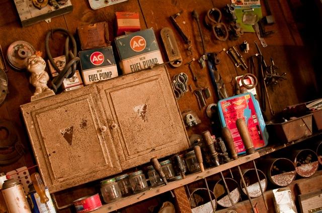 grandpa's cabinet