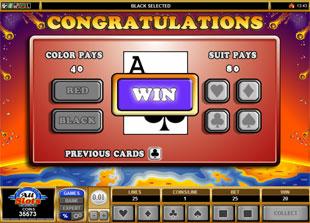 free Monster Meteors gamble bonus game