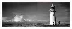 sylt (look-book) Tags: blackandwhite bw film analog trix d76 sw analogue sylt xpan 45mm leuchtturm lookbook analogous análogo ellebogen