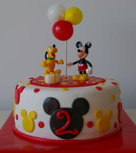 Pasteles de cumpleaños de Mickey Mouse - Imagui