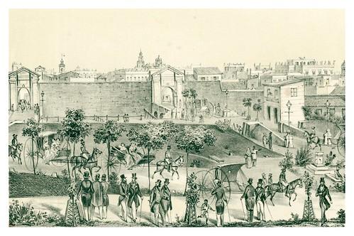008-Cuba-Puertas de Monserrate-Álbum pintoresco de la Isla de Cuba- 1853