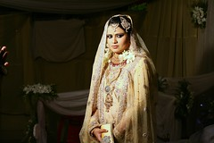 Moussy's bride.... (N A Y E E M) Tags: wedding bride friend availablelight ivy indoors moustafa bangladesh chittagong communitycenter canonef50mmf14usm canoneos5d moussy nayeemkalam thekingofchittagong