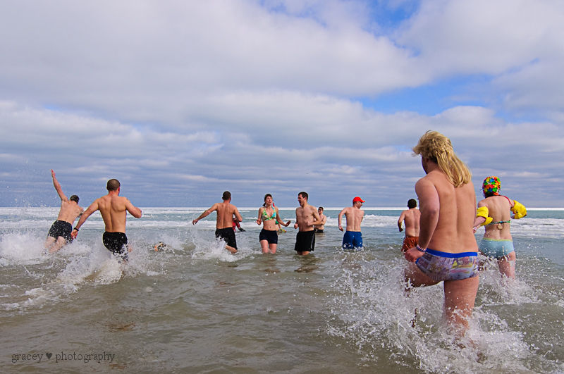 Taking the Polar Bear Plunge