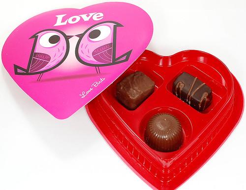 Elmer's Quality Chocolate Love Birds