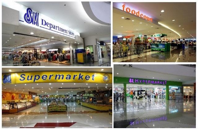 SM Supermarket, SM Hypermart, Sm Foodcourt