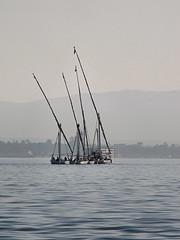 Feluccas Of The Nile (Oldt1mer - Keith) Tags: holiday misty river boat egypt craft nile luxor felucca feluccas mygearandmepremium mygearandmebronze mygearandmesilver mygearandmegold mygearandmeplatinum mygearandmediamond