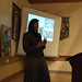 Rev'd Charlotte Bannister-Parker speaking on her work in Kimberley, South Africa