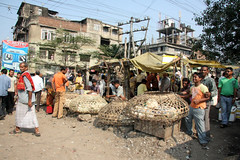 The market in Guwahati, Assam (sensaos) Tags: life street people india streets asia north daily east assam northeast guwahati azie kohima nagaland noord oost