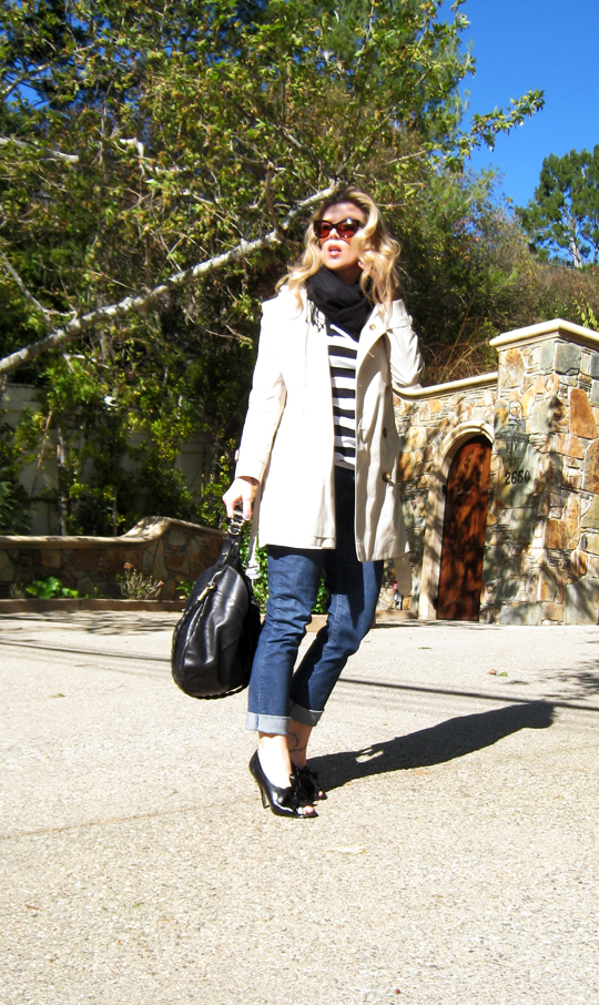 burberry trench and stripes 2
