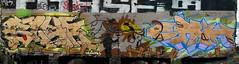 Blur, Kanser, Each (Boxcar - Willy) Tags: gold graffiti characters graff burner vancity backround
