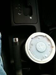 Progress (Cameron_Talley) Tags: car vw volkswagen joke beetle progress cupholders