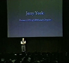 Steve Jobs - Jerry York part of new Board of Directors