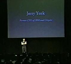 Steve Jobs - Jerry York part of new Board of Directors