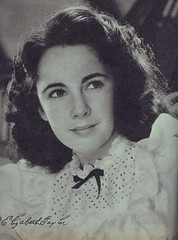 Elizabeth Taylor at 15 (Silverbluestar) Tags: ladies girls bw classic film beautiful beauty vintage hair stars women pretty european womens 1940s hollywood actress movies british celebrities brunette mgm hairstyles academyaward oscarwinner elizabethtaylor metrogoldwynmayer