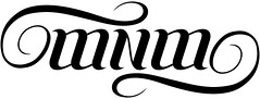 """MNM"" Ambigram"
