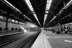 Island Platform - Kuala Lumpur Station (QooL / بنت شمس الدين) Tags: station train rail ktm kualalumpur qool qoolens