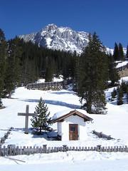 Pestkapelle und Wetterstein