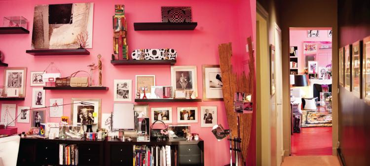 Ines de la Fressange's Apartment