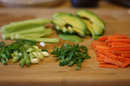 Salad Rolls.  Sorta.