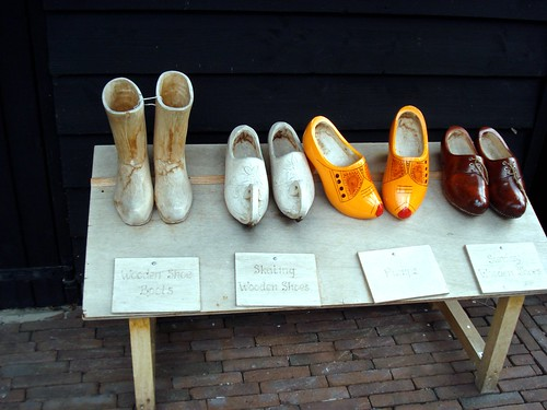 Clogs at Keukenhof