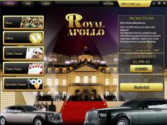 Royal Apollo Casino Lobby