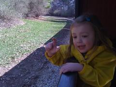 Zoo Trip 4/3/10 - Choo choo ride (genuine_youth) Tags: train zoo toddler choochoo 4yearold milwaukeezoo zooclass