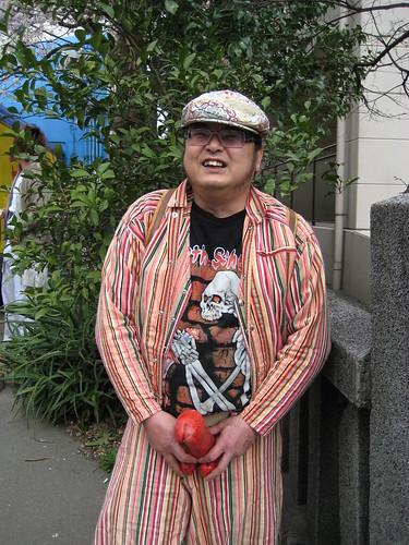 おじさん@金山神社
