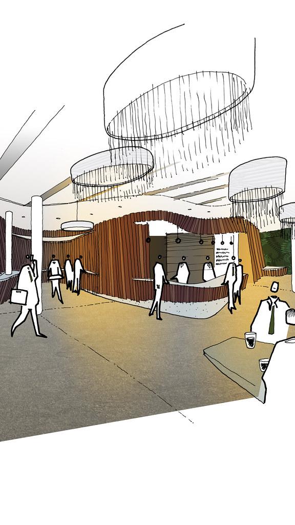 Modular Hotel lounge (ESA)