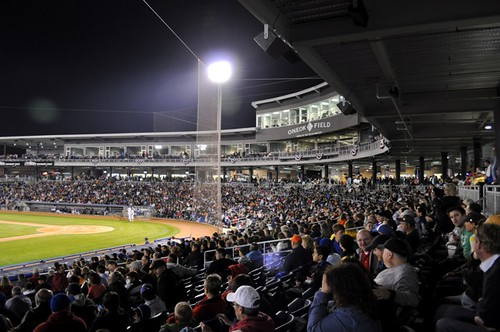 ONEOK Field, Opening Night