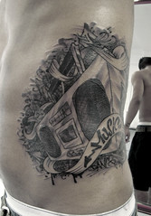 Music (taiom) Tags: music tattoo hiphop boombox bboy taiom