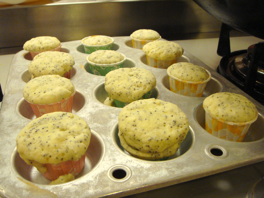 sunkist cooking class lemon cupcake