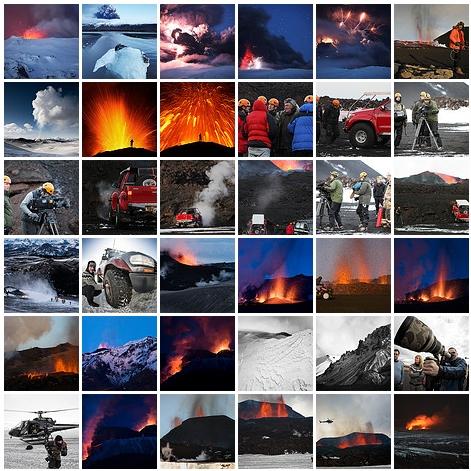 El Volcán de Islandia