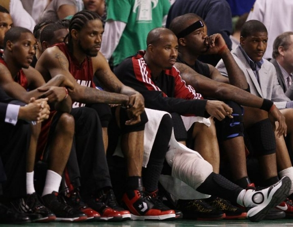 Sad Heat bench