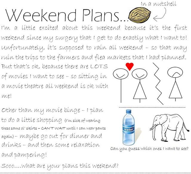 Weekend Plans 5.13.11