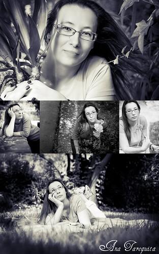 Sessão Fotografica com Andreia Lopes II - Black & White by Ana Tarequita