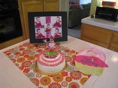 First Birthday Party Cake