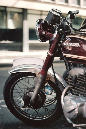 Honda CD200 Benly by Vespamore !