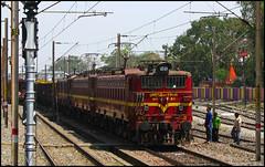 Tata Triplets (Ankit Bharaj) Tags: india plant electric canon is energy power diesel indian engine twin rake locomotive 100 railways ltd thermal aluminium ankit sx rourkela vedanta railfanning orrisa irfca koraput tatanagar bharaj sterlite mued jharsuguda wag5 boxn