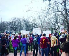 Brunch rally #HoorayACA #instadc #DC Washington, DC USA  #ACA #activetransportation