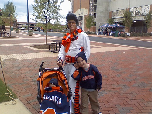 Crumley boys at Auburn