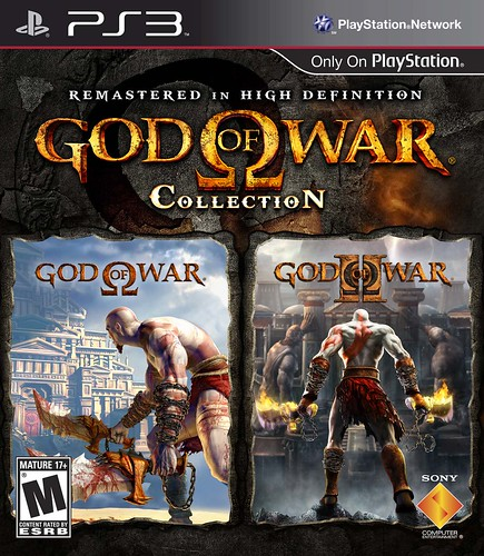 God of War Collection packfront