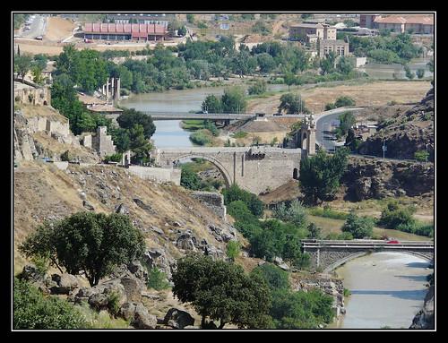 Puente de Alcántara desde El Valle