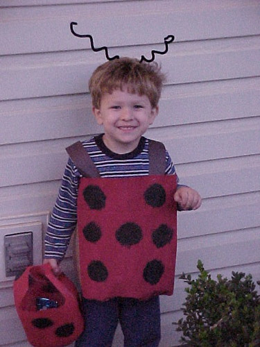 TV Boy on Halloween {lil' bug}