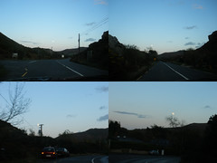 Moon-chasing =) (St.Stello) Tags: ireland moon pinky cowicklow