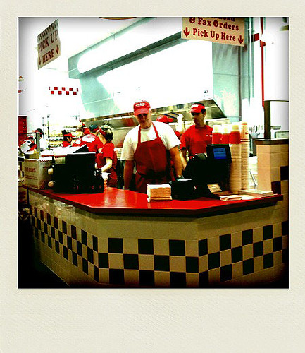 Five Guys Burgers - Taken With An iPhone
