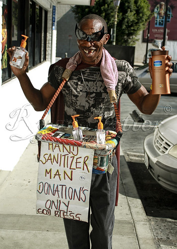 The Hand Sanitizer Man!